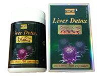 Viên giải độc gan Liver Detox - Liver Tonic 35000mg Costar 100 Viên