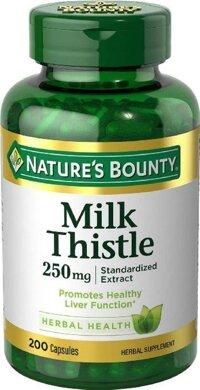 Viên giải độc gan Nature's Bounty Milk Thistle 250mg