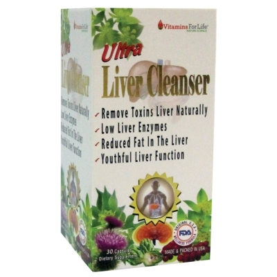 Viên giải độc gan Ultra Liver cleanser