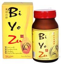 Viên giấm đen Biyozu bí quyết giảm cân của người Nhật