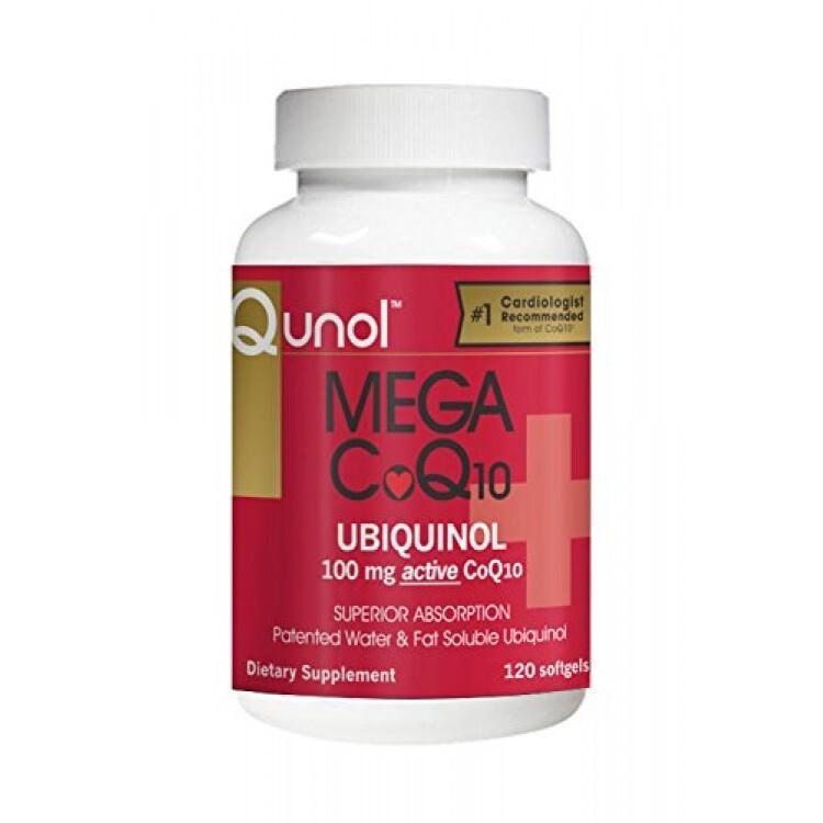 Viên hỗ trợ chăm sóc hệ tim mạch Qunol Mega CoQ10 100 mg – 120 viên