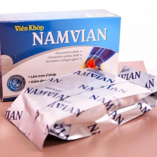 Viên khớp Namvian giảm đau nhức xương