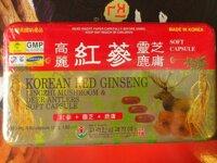 Viên nang mềm Hồng Sâm Linh Chi Bio Hàn Quốc 120 viên