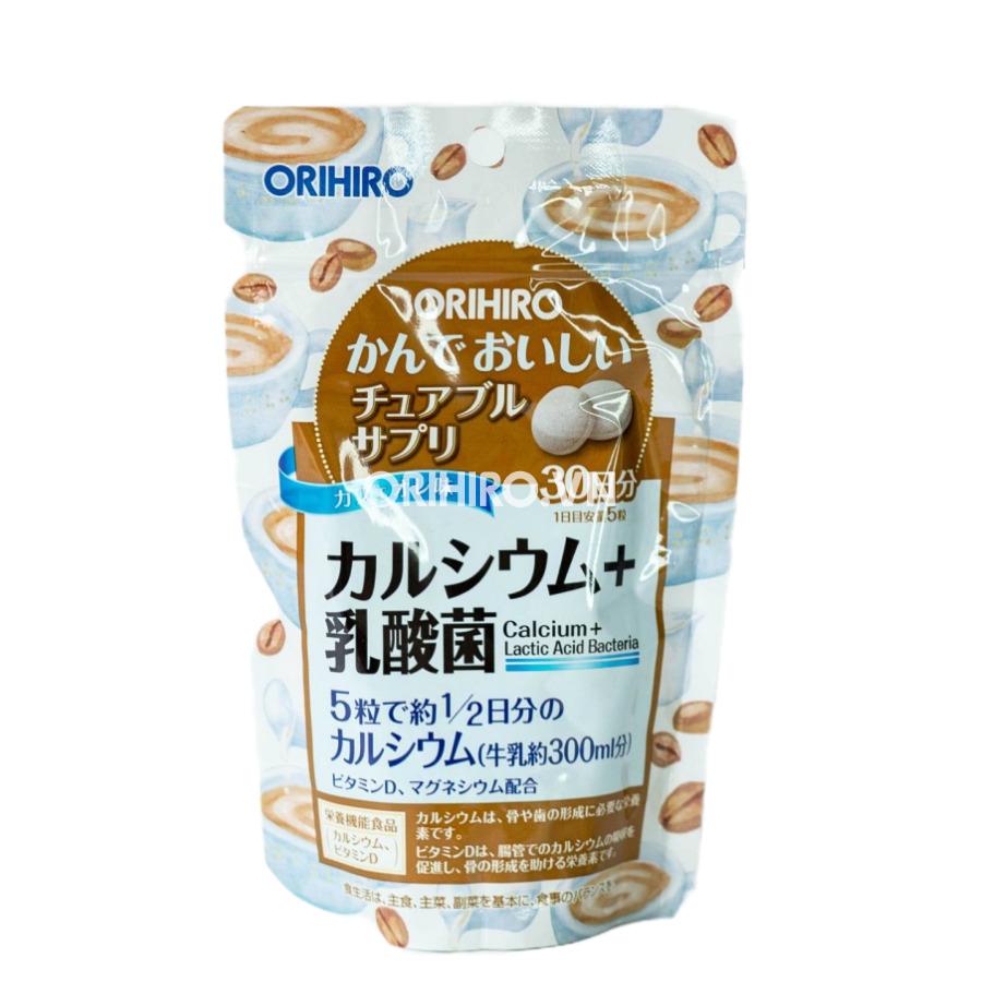 Viên nhai bổ sung canxi và lợi khuẩn Orihiro – 150 viên