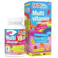 Viên nhai dẻo bổ sung vitamin & khoáng chất cho bé gái Multivitamin Minerals For Girls 60 viên