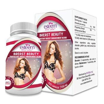 Viên nở ngực Esteem-Esteem Breast Beauty - 60 viên/hộp