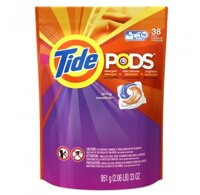 Viên nước giặt Tide Pods Spring Meadow 951g - 38 Viên