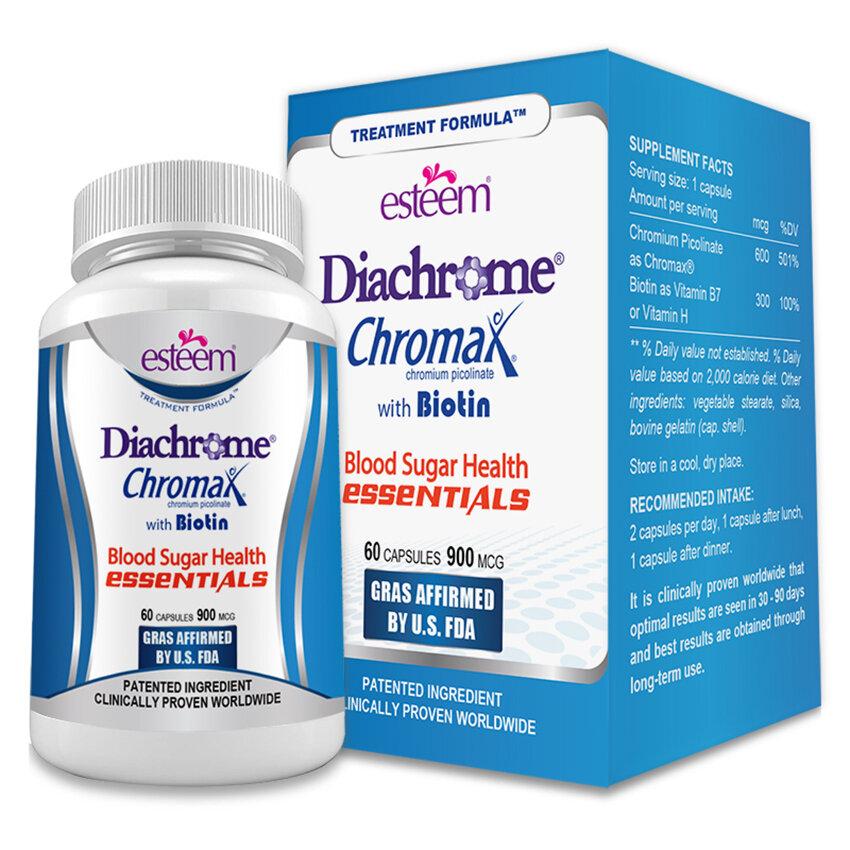 Viên phòng chống tiểu đường Esteem Diachrome 60 viên/hộp