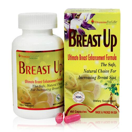 Viên tăng vòng ngực phụ nữ Vitamins For Life Breast Up 60 viên