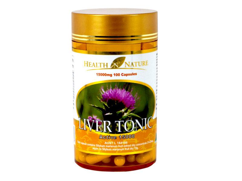 Viên uống bổ gan Health N Nature Liver Tonic 15000mg