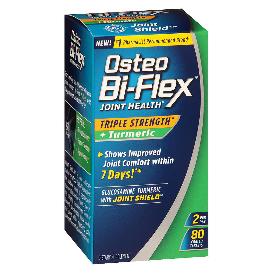 Viên uống bổ khớp Osteo Bi-Flex Triple Strength Turmeric
