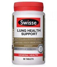 Viên uống bổ phổi & hỗ trợ chức năng phổi  Swisse Lung Health Support