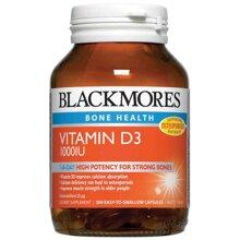 Viên uống bổ sung Blackmores Vitamin D3 1000IU - 200 viên
