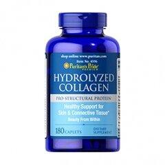 Viên uống bổ sung collagen Puritan's pride Hydrolyzed collagen - 180 viên