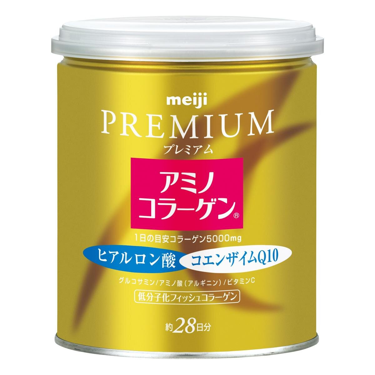 Viên uống bổ sung collagen Meiji Collagen Q10 Primium