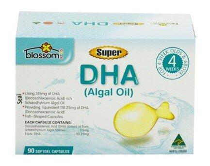 Viên uống bổ sung DHA cho trẻ Blossom Super DHA For Kids 90 viên
