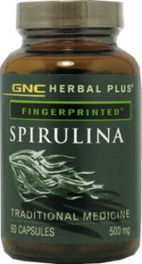 Viên uống bổ sung dinh dưỡng Spirulina GNC 500mg