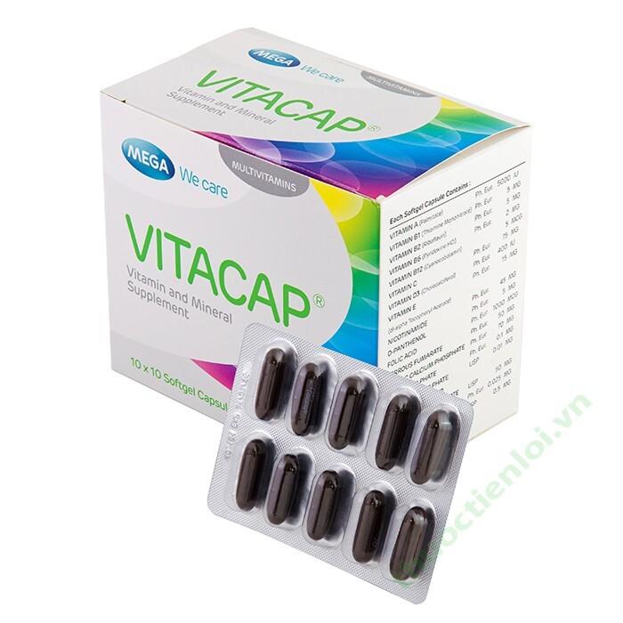 Viên uống bổ sung vitamin & khoáng chất Vitacap