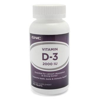 Viên uống bổ sung vitamin D3 GNC Vitamin D-3 2000 IU - 180 viên