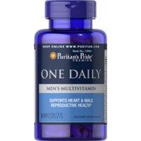 Viên uống bổ sung Vitamin và khoáng chất cho nam giới Puritan's Pride One Daily Men's Multivitamin 100 viên