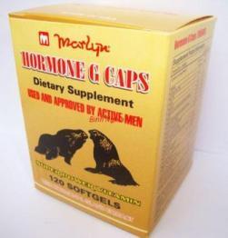 Viên uống bổ thận tráng dương tăng cường sinh lý Hải cẩu hoàn Hormone G Caps