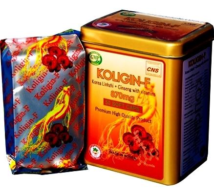 Viên uống bồi bổ sức khỏe Koligin -D 870mg