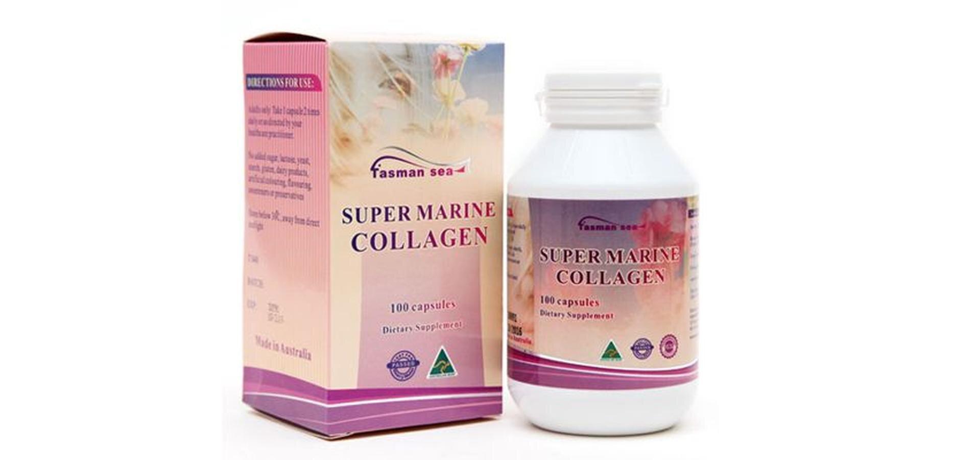 Viên uống chống lão hóa đẹp da Super Marine Collagen