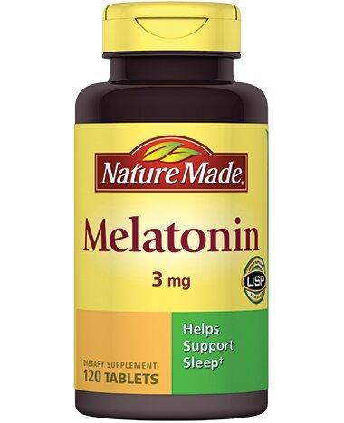 Viên uống chống mất ngủ Nature Made Melatonin
