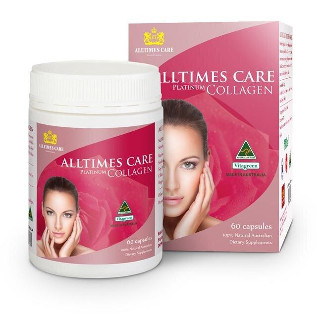 Viên uống Collagen Alltimes Care Platinum Collagen 60 viên