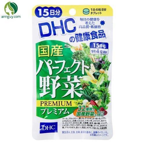 Viên uống DHC rau củ quả tổng hợp – 15 ngày
