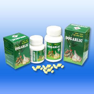 Viên uống điều hòa triglyceride huyết thanh, tăng tuần hoàn máu Dogarlic 300mg