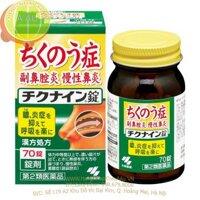Viên uống điều trị viêm xoang mãn tính Chikunain - hộp 140 viên