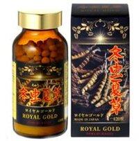 Viên uống đông trùng hạ thảo Tohchukasou Royal Gold Nhật Bản - 420 viên