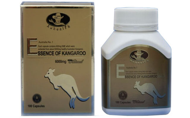 Viên uống Essence of Kangaroo Auhealth - Bổ thận, tăng cường sức khỏe đàn ông, 6000mg