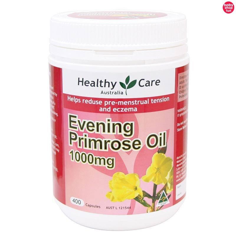 Viên uống Evening Primrose Oil Healthy Care của Úc hộp 400 viên