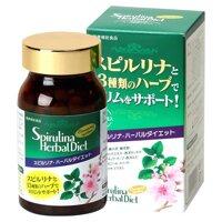 Viên uống giảm cân tảo Spirulina Herbal Diet 300 viên