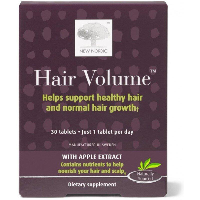 Viên uống giúp tóc chắc khỏe New Nordic Hair Volume 30 viên