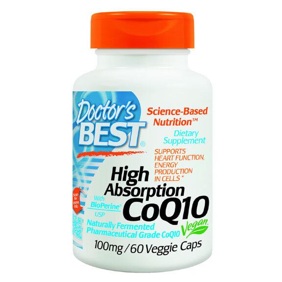 Viên uống hỗ trợ điều trị tim mạch Coenzyme Q10 100mg Doctor's Best