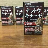 Viên uống hỗ trợ điều trị tai biến Nattokinase 2000FU Orihiro 60 viên