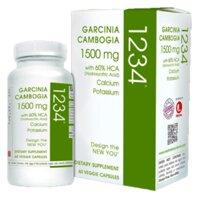 Viên uống hỗ trợ giảm cân cho người khó giảm cân Garcinia Cambogia 1234 60 viên