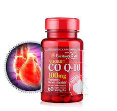 Viên uống hỗ trợ tim mạch Puritan's Pride coq10 100mg của Mỹ 60 viên