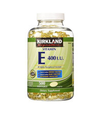 Viên uống Kirkland Signature Vitamin E 400 IU - 500 viên