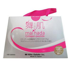 Viên uống Maihada Collagen Peptide Nhật Bản – thuốc giúp da săn chắc, giữ ẩm và xóa mụn hiệu quả, 180 viên