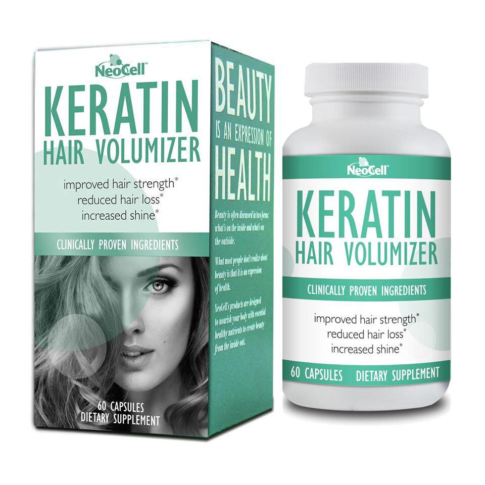 Viên uống mọc tóc, ngăn rụng tóc của Mỹ Keratin Neocell