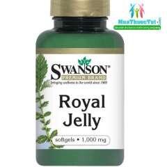 Viên uống nâng cao sức đề kháng sữa ong chúa Swanson Royal Jelly 1000mg - 100 viên
