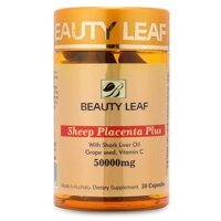 Viên uống nhau thai cừu Úc Beauty Leaf Sheep Placenta Plus 50000mg
