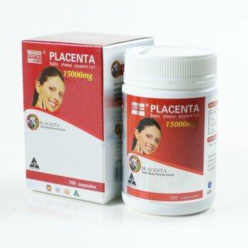 Viên uống nhau thai cừu Úc Costar Placenta -15000 mg,100 viên/hộp