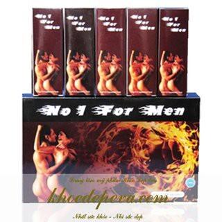 Viên uống No 1 For Men – Chống Bệnh Liệt Dương, Yếu Sinh Lý Cho Nam