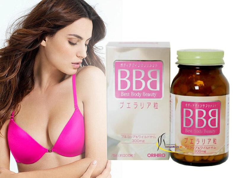Viên uống nở ngực BBB Orihiro - 300 viên