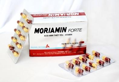 Viên uống phục hồi sức khỏe Moriamin forte